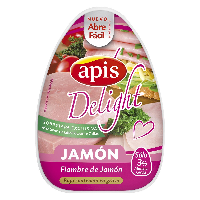 Jamón cocido extra Apis 220 g.