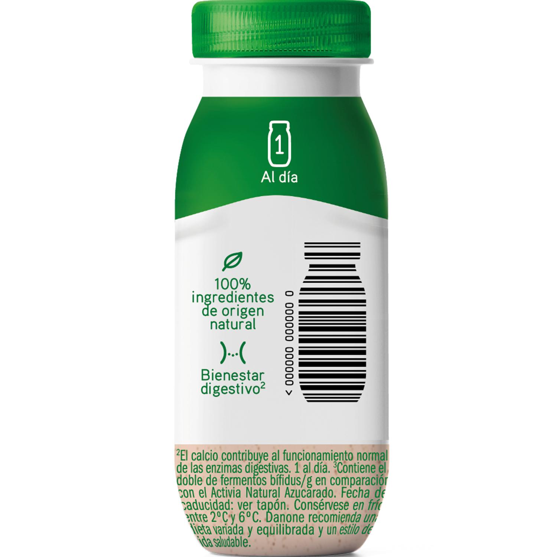 Yogur líquido shot semidesnatado con probióticos y jengibre Danone Activia 80 g. - 2