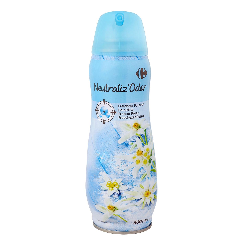 Ambientador neutralizador olores fresh perfume Carrefour 300 ml.
