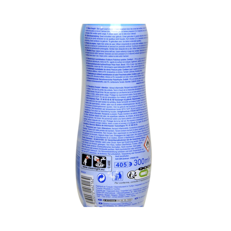 Neutralizador de olor spray Frescura Polar Carrefour 300 ml. -