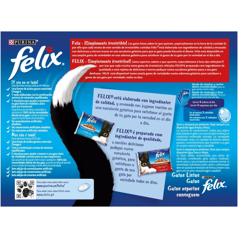 Comida para gatos Selección de Carnes en Gelatina  - 2
