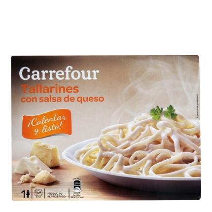 Carrefour Tallarines 4 Quesos