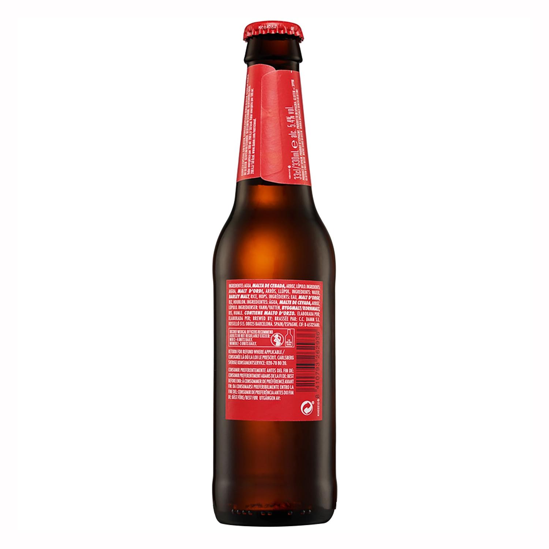 Cerveza Daura sin gluten botella 33 cl. -