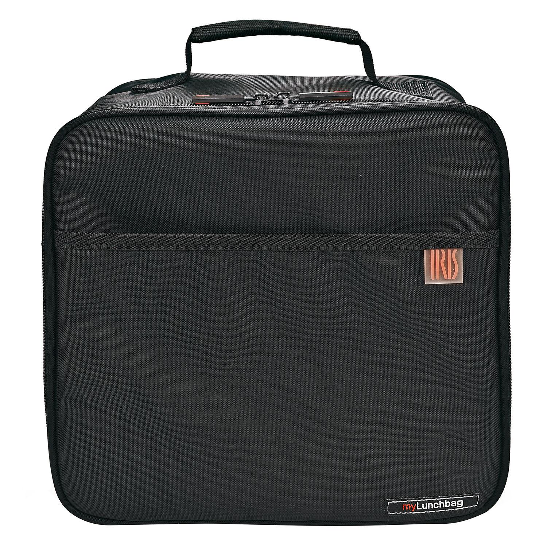 Pack Bolsa portalimentos My Lunchbag con 2 contenedores- Negro