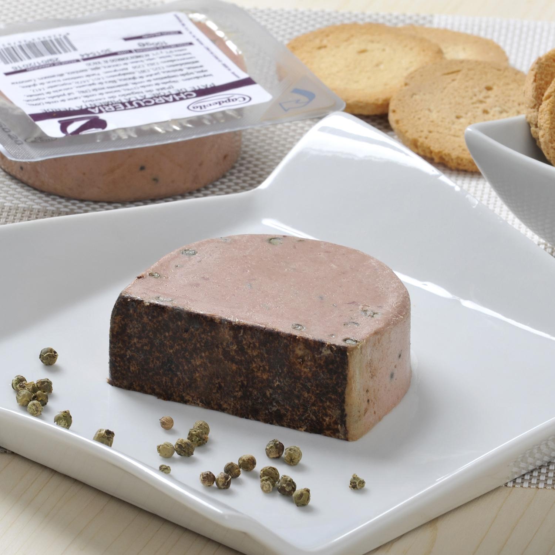 Paté de foie a la pimienta verde Capdevila 100 g -