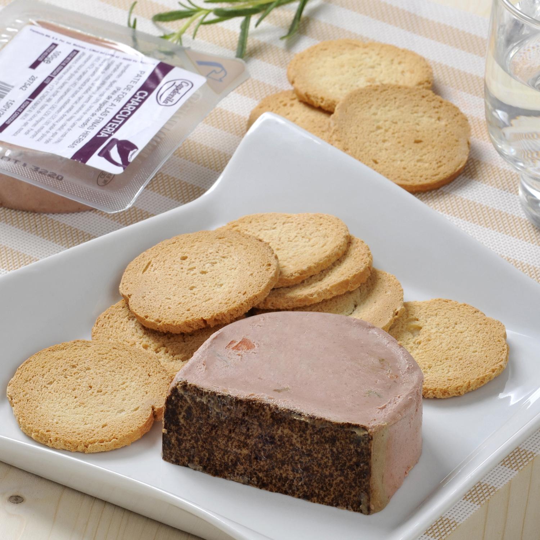 Paté de foie a las finas hierbas Capdevila  100 g -