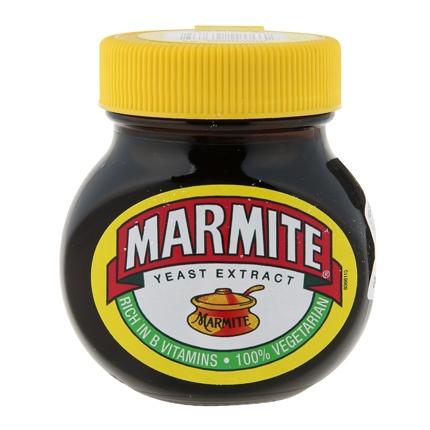 Extracto de levadura fortificado con vitamina B Marmite tarro 125 g.
