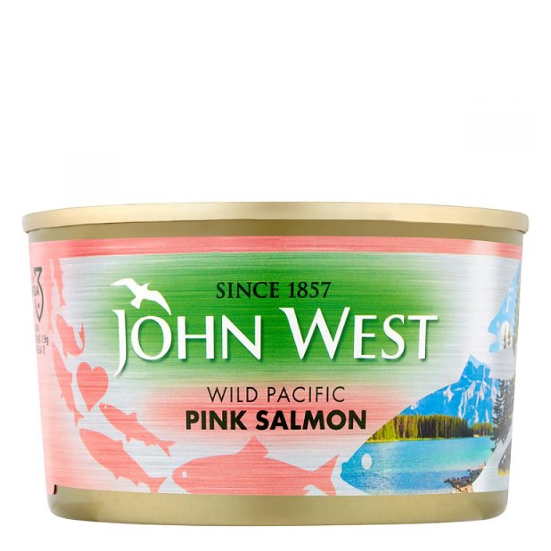 Salmón rosado John West 213 g.