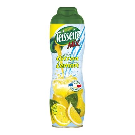 Concentrado de limón Teisseire sin gas botella 60 cl.