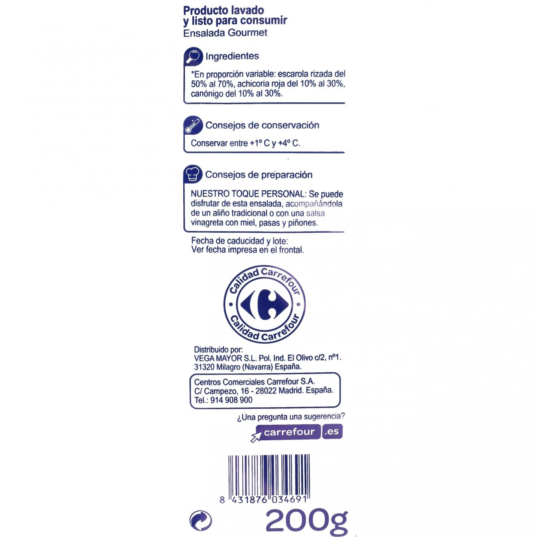 Ensalada Gourmet mezcla Carrefour 200 g - 3