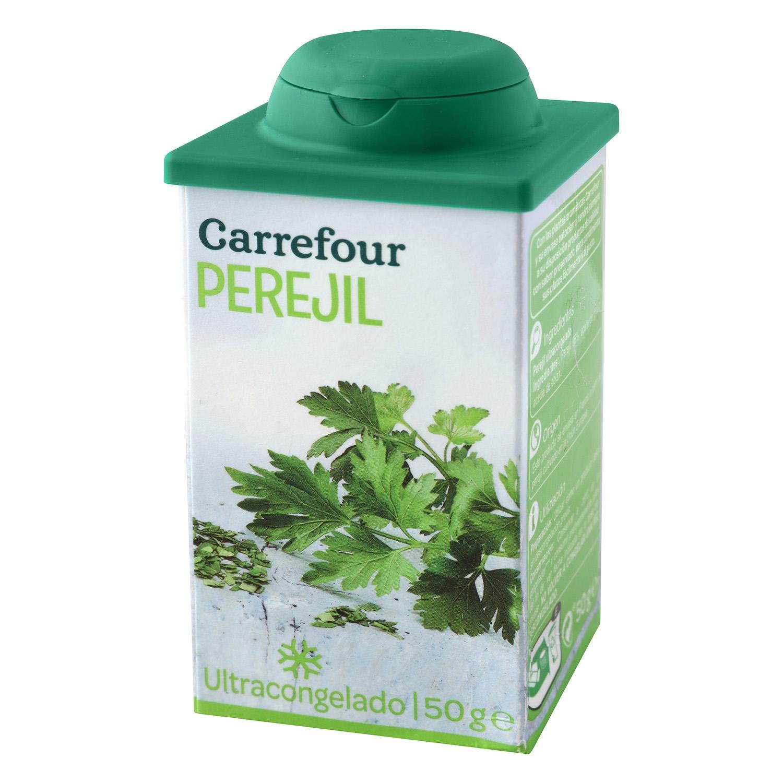 Perejil ultracongelado Carrefour 100 g.