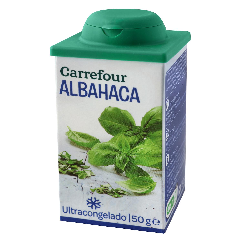 Albahaca Carrefour 50 g.