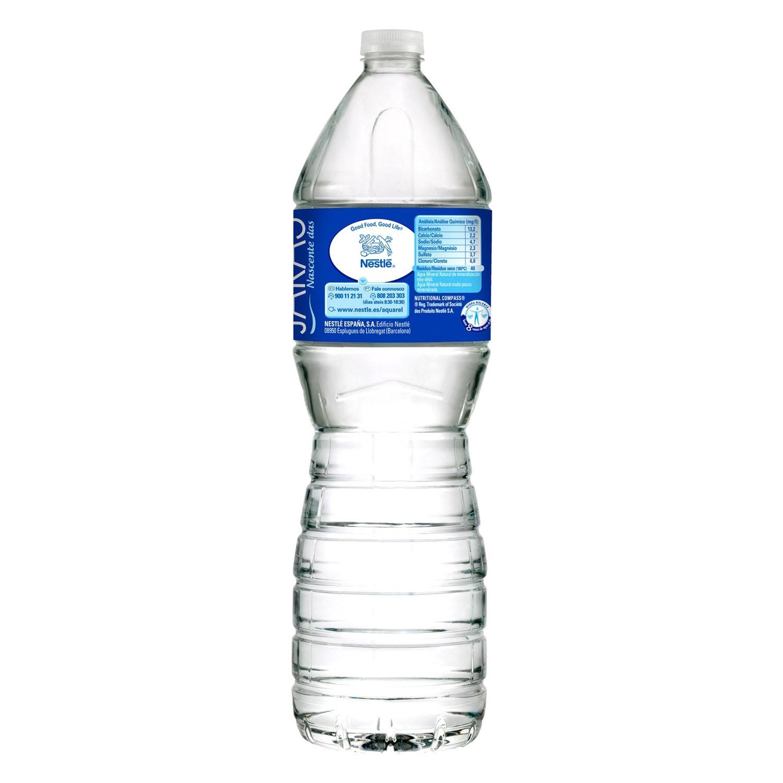 Agua mineral Aquarel natural 1,5 l. - 2