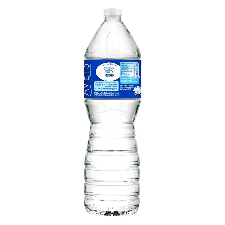 Agua mineral Aquarel natural 1,5 l. -