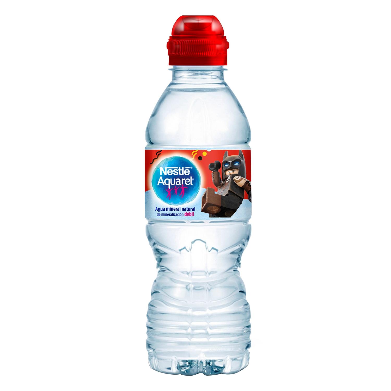 Agua mineral Aquarel natural 33 cl.