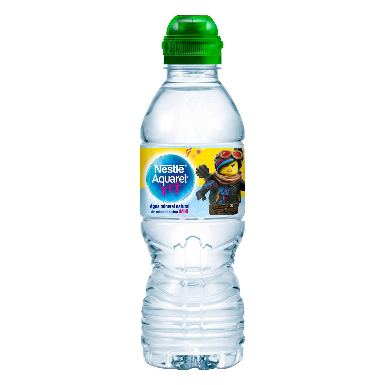 Agua mineral Aquarel natural 33 cl. -