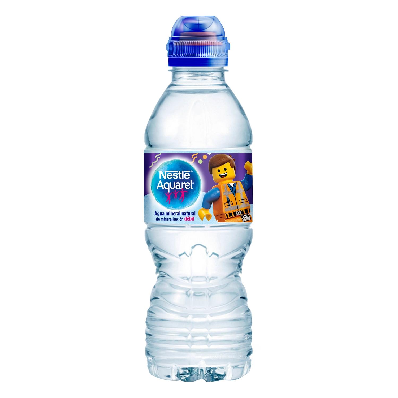 Agua mineral Aquarel natural 33 cl. - 2