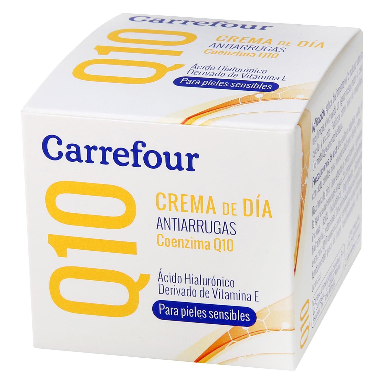 Crema de día Q10 Antiarrugas Carrefour 50 ml.