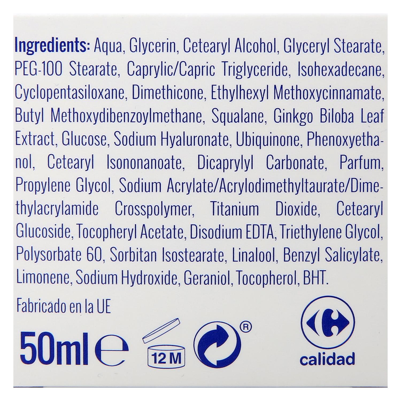 Crema de día Q10 Antiarrugas Carrefour 50 ml. - 3