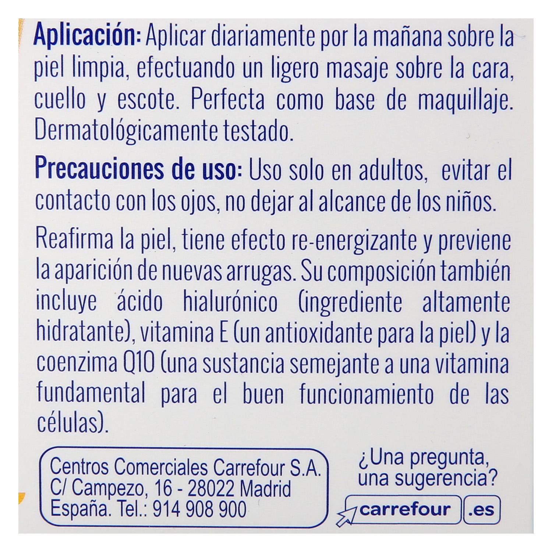 Crema de día Q10 Antiarrugas Carrefour 50 ml. - 5