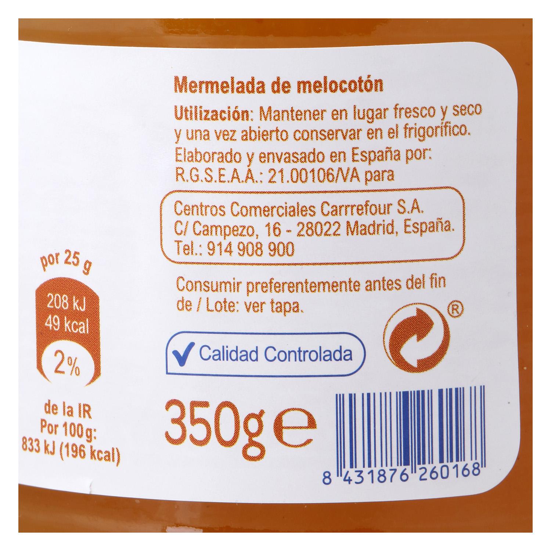 Mermelada de melocotón Producto blanco 350 g. - 2