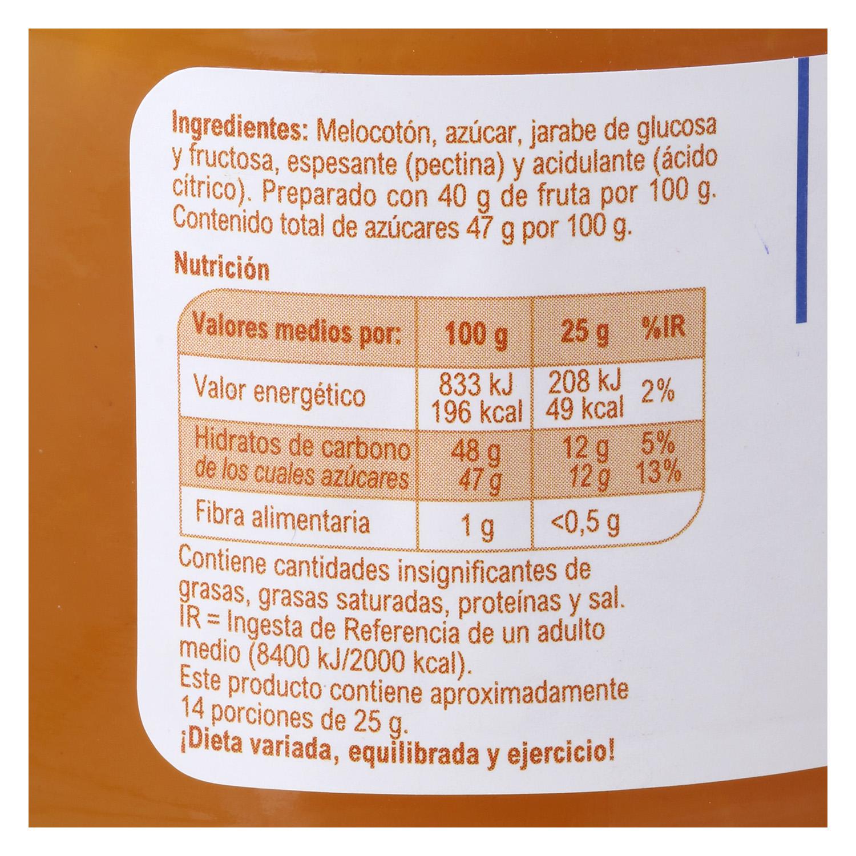 Mermelada de melocotón Producto blanco 350 g. - 3