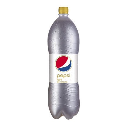 Refresco de cola Pepsi light sin cafeína botella 2 l.