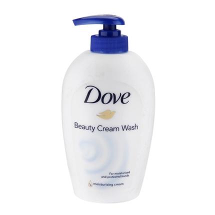 Jabón crema hidratante Dove 250 ml.