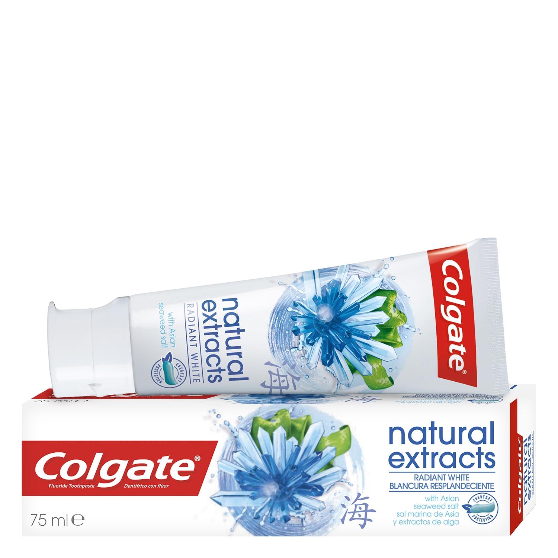 Dentífrico Naturals con sal marina de Asia y extracto de alga Colgate 75 ml.