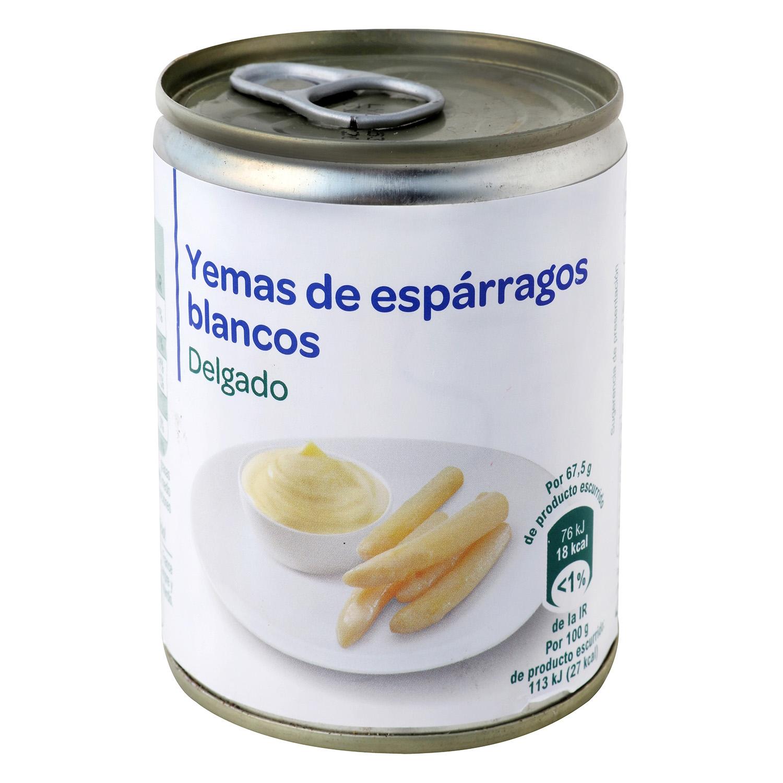 Yemas de espárragos blancos Producto blanco 135 g.