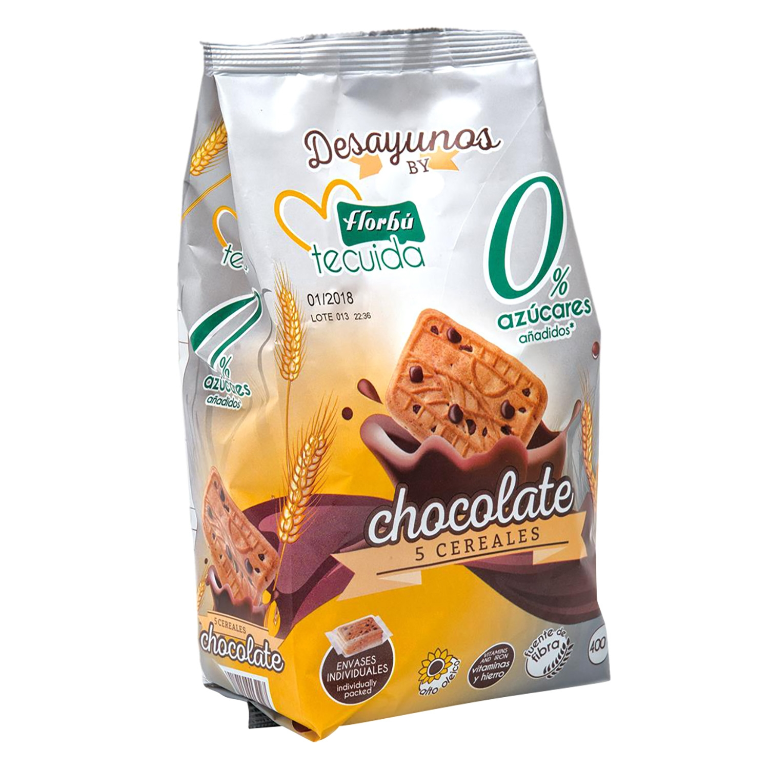 Galletas de chocolate 5 cereales
