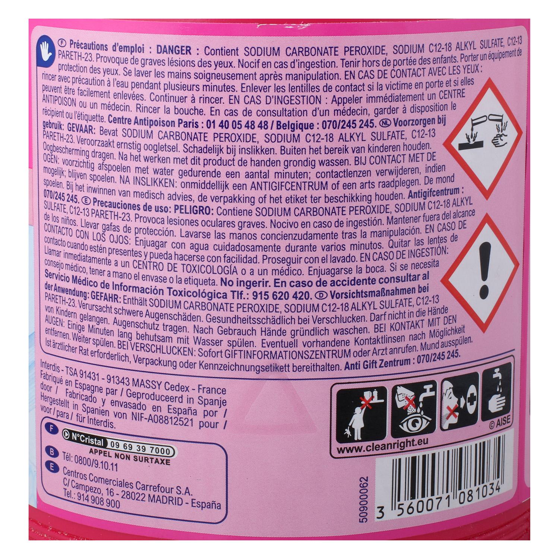 Quitamanchas en polvo Oxi Power Carrefour 1 kg. -