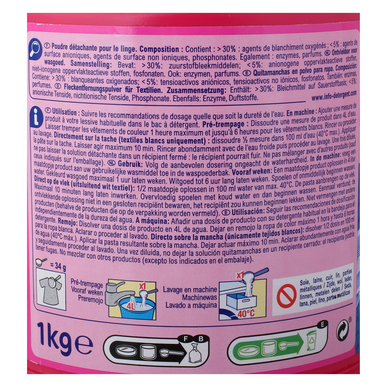 Quitamanchas en polvo Oxi Power Carrefour 1 kg. - 2