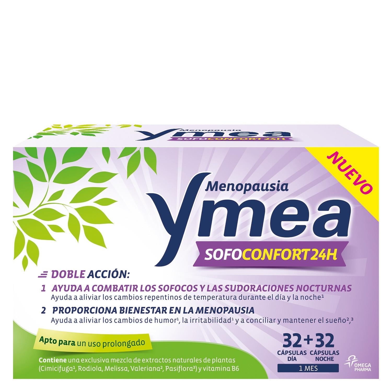 Cápsulas Menopausia Sofoconfort 24h