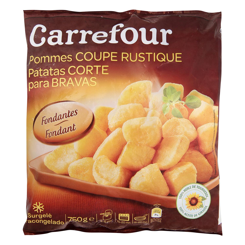 Patatas corte para bravas
