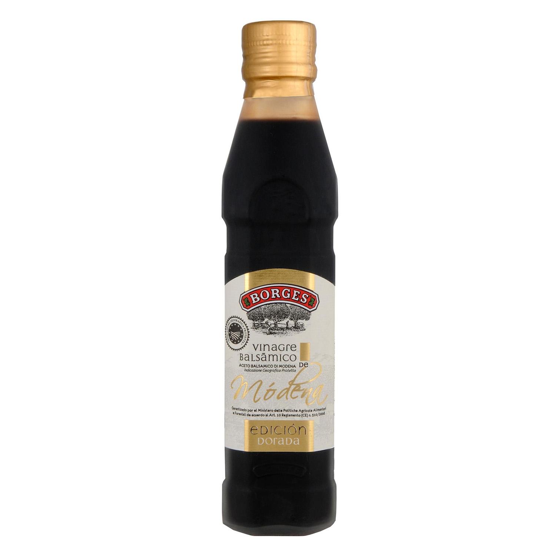Vinagre bálsamico de módena Borges reserva 250 ml.