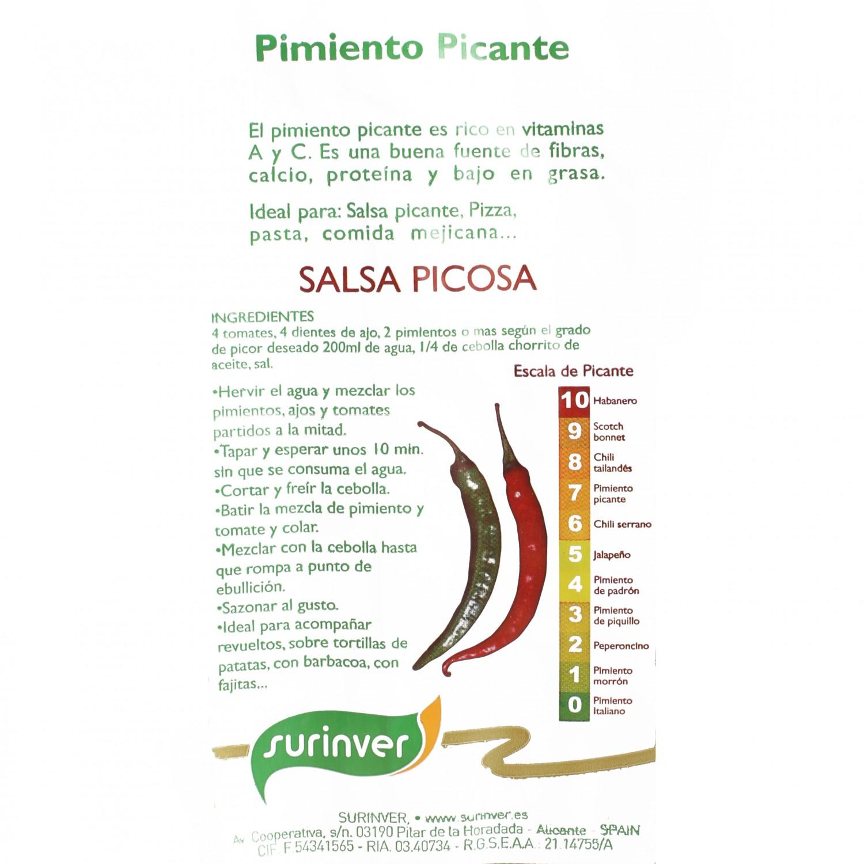 Pimiento picante  - 3