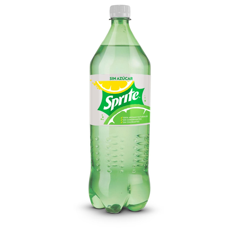 Refresco de lima-limón Sprite con gas zero botella 2 l.