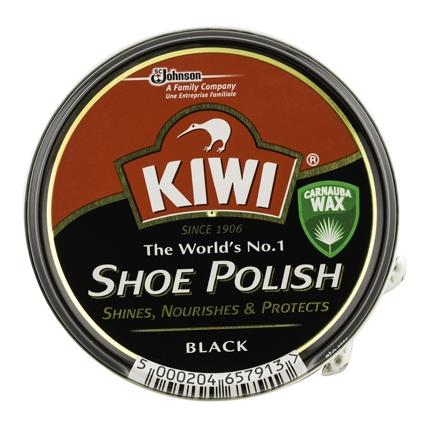 Crema para calzado color Negro Kiwi 50 ml.