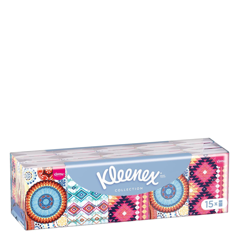 Pañuelos Collection Kleenex 15 ud.