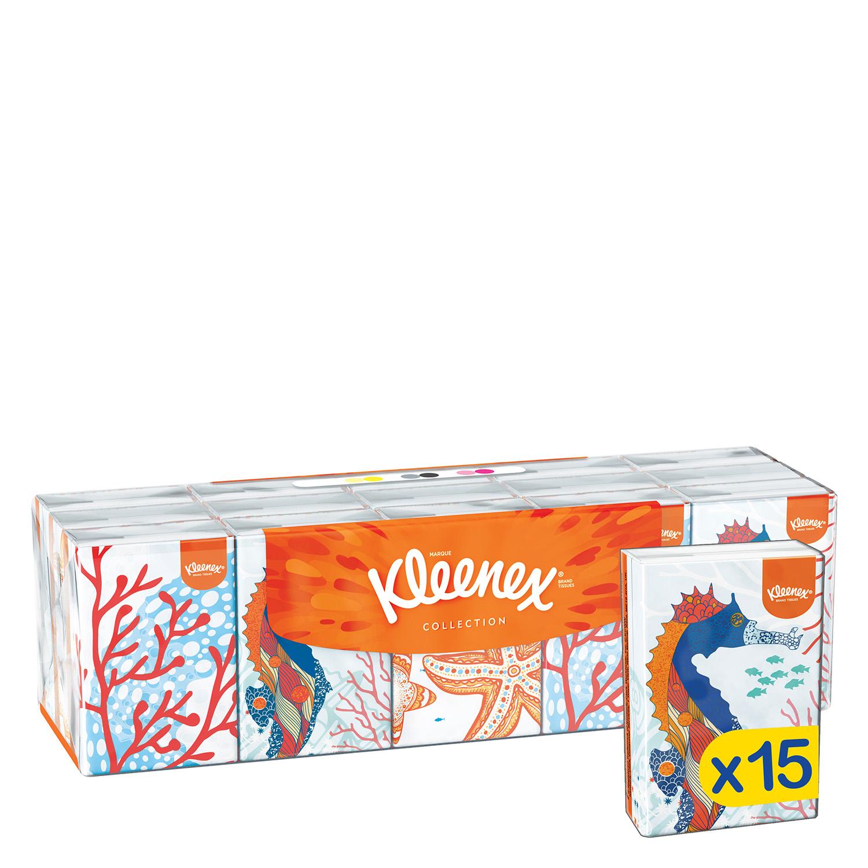 Pañuelos Collection Kleenex 15 ud. - 2