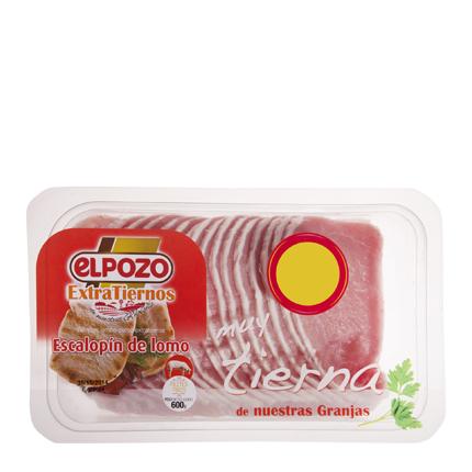 Cinta Lomo de Cerdo Extratierna El Pozo 660 g -