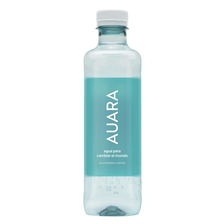 Agua mineral Auara natural 50 cl.