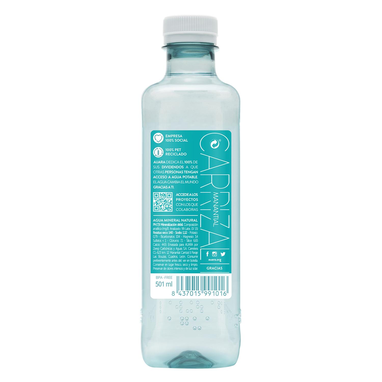 Agua mineral Auara natural 50 cl. -