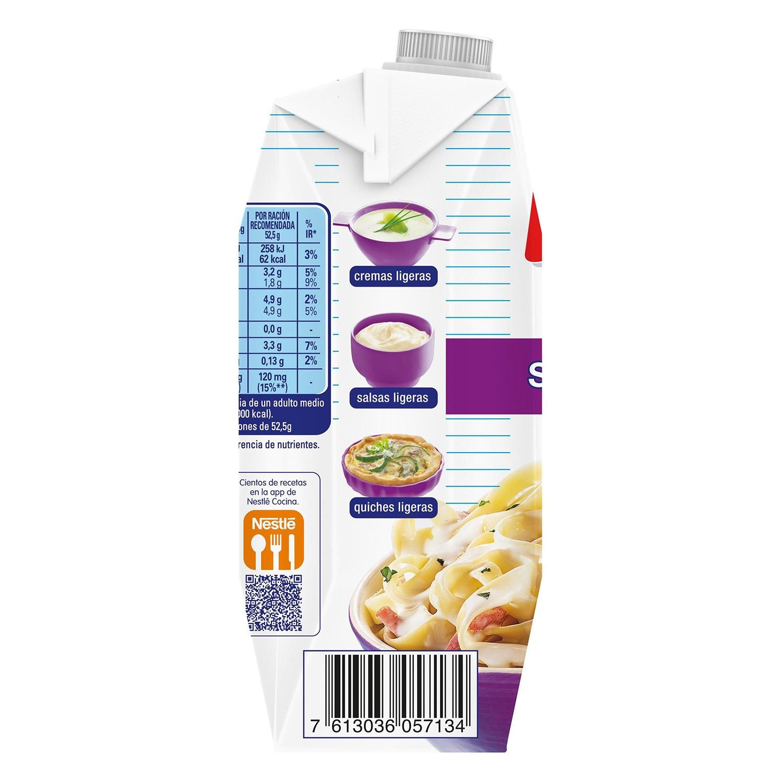 Leche evaporada desnatada Nestlé - Ideal sin lactosa 525 g. - 3