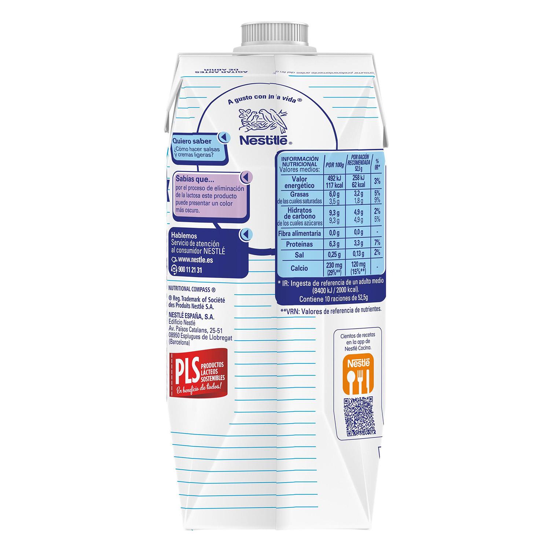 Leche evaporada desnatada Nestlé - Ideal sin lactosa 525 g. - 4