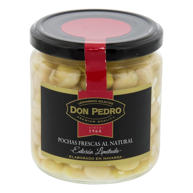 Alubia pocha cocida premium Don Pedro 205 g.