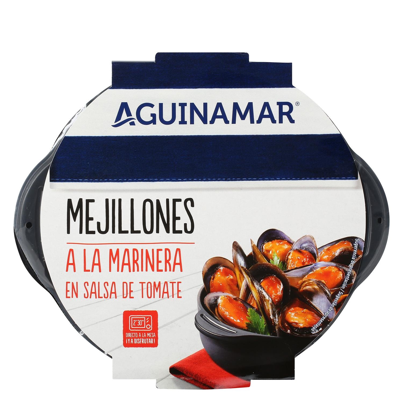 Mejillón en salsa de tomate Aguinamar 400 g - 2