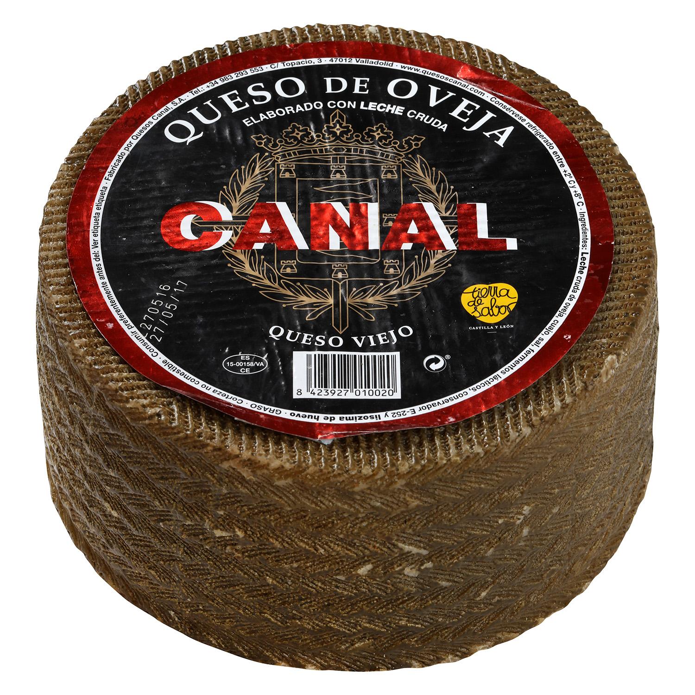 Queso puro de oveja viejo graso Canal al corte 300 g aprox -