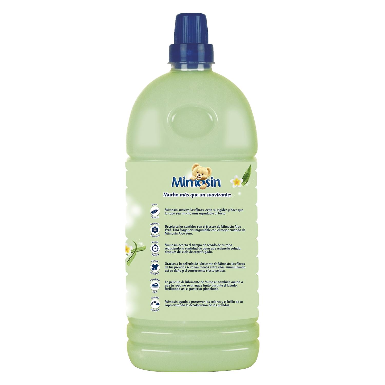 Suavizante concentrado aloe vera Mimosín 78 lavados. -